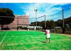 クリアビューゴルフクラブアンドホテル:テニスコート