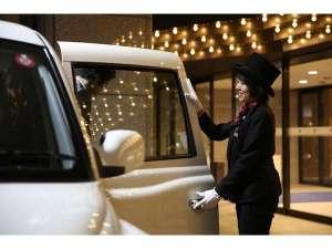 ホテル東日本宇都宮:ドアマン 女性