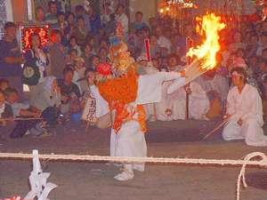 【燈篭祭り】湯澤神社例祭毎年9月8日開催。