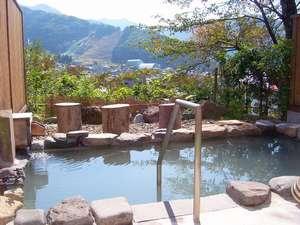 信州野沢温泉 野沢グランドホテル ~絶景露天風呂の宿~:展望露天風呂:野沢温泉随一の眺望!天下の名湯真湯源泉をかけ流してます。