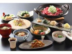 【秋夕食】信州の食材を盛り込んだ料理長自慢の会席料理・例