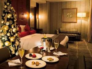ホテルオークラ東京:ルームサービス 「ペントクリスマス」クリスマス特製ディナー(イメージ)