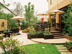 庭の、桐生エースホテルの写真