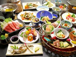 大谷にしき荘:篠山ならではと、季節の美味をぜ~んぶ食べて欲しいからこのボリューム(^^)b