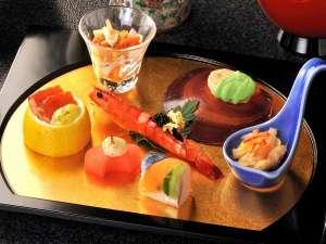 芦ノ湖畔 蛸川温泉 龍宮殿:お料理のイメージになります。四季折々に旬の食材を使用して見ても楽しめる内容です♪