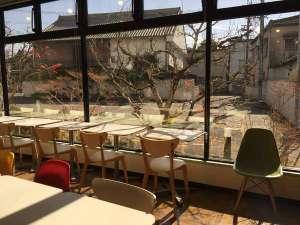 八女グリーンホテル:朝食会場