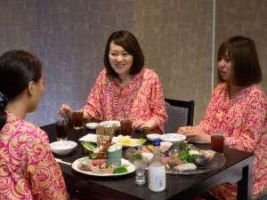 スパランドホテル内藤:女子トークも盛り上がる♪総料理長山本が選び抜いた食材と考え抜いた料理でおもてなし