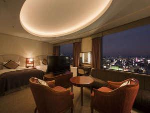 札幌プリンスホテル:デラックスツインルーム(42平米)※喫煙フロア=22~23階/禁煙フロア=24~27階