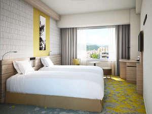 札幌プリンスホテル:改装スタンダードツインルーム(21平米)