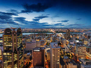 ホテル阪急インターナショナル:夜景(北側)