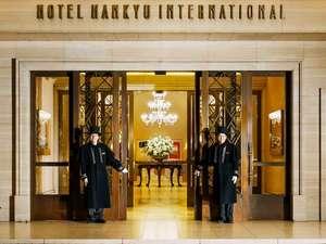 ホテル阪急インターナショナル:2階 メインエントランス
