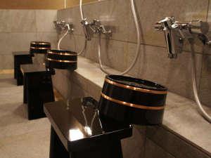 大浴場「羽ノ湯」和を基調とした大浴場