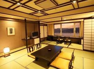 上諏訪温泉 RAKO華乃井ホテル:本館和室12.5畳2013改装(内装のデザインは客室によって異なります)