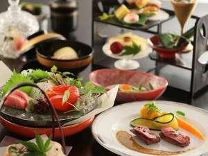 人気の定番<br>湖側の部屋旬の会席料理