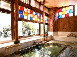 村のホテル住吉屋:自家源泉かけ流し。本物の温泉をじっくりとお愉しみください。