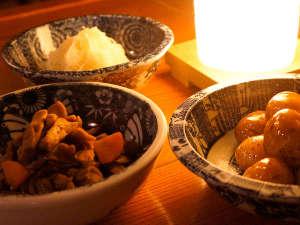 村のホテル住吉屋:郷土料理「取回し鉢」
