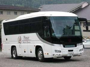 万座プリンスホテル:無料送迎バス(軽井沢駅南口より:要事前予約)