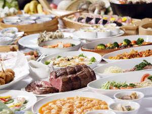 万座プリンスホテル:和洋中夕食ブッフェ※イメージ