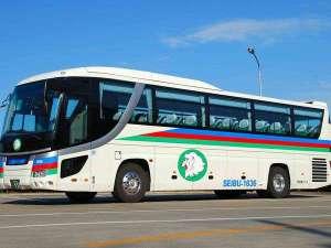 【送迎バス】ホテル~軽井沢間、無料送迎バス運行中(約90分:要事前予約)