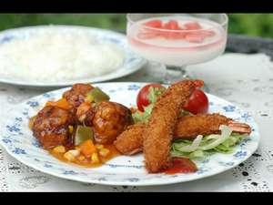 ペンション アルペンフローラ:子供用の料理一例です。