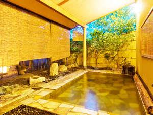 旅館 深雪温泉:【桃の湯・露天】趣の違う2種類の男女別大浴場[柿の湯][桃の湯]は19時前後に男女が入替になります。