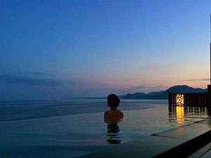 海一望 絶景の宿 いなとり荘:最上階7階リニューアルOPEN絶景女性露天風呂「蒼空Sora」