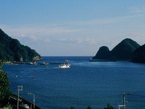 おだやかな柴山港~毎日漁船が行き交う。海側の部屋から見える風景です。☆