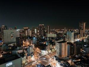 南側の客室からは京セラドームや国際会議場などの夜景がご覧いただけます★