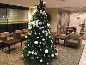 西鉄イン天神:クリスマスツリー