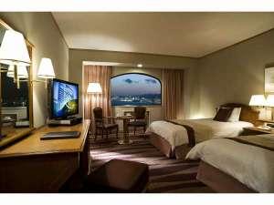 六甲アイランド ホテルプラザ神戸:スタンダードツインルーム(28.0平米)