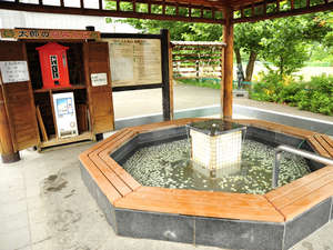 ◆周辺観光/当館から徒歩3分!足湯「河童太郎」