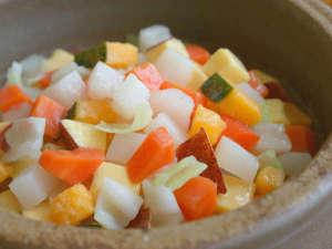 ワンちゃんと泊まる宿 ラハイナ:ワンちゃんポトフ:玉ねぎ以外のキャベツ、人参、サツマイモ等野菜のみ