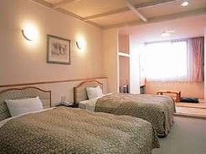 レイクホテル西湖:本館和洋室タイプの一例です。