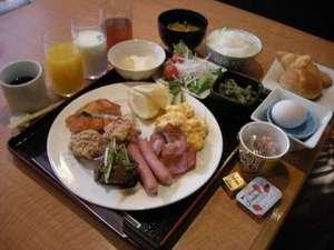 ホテル・アルファ-ワン鯖江:ご朝食バイキング(盛り付けイメージ)