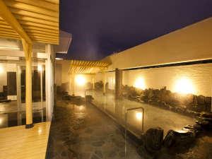 サウナ&カプセルホテル キュア国分町:当館自慢の露天風呂