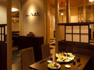 サウナ&カプセルホテル キュア国分町:当館1階食事処「八波亭」