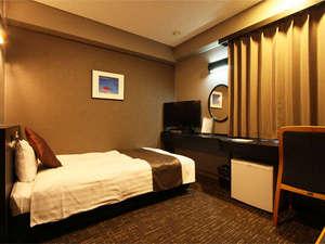 ホテルエリアワン千歳(HOTEL AREAONE):☆シングルルーム☆■広さ15平米■110cm幅ベッド1台♪スペース広々^^