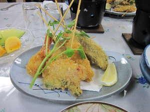 軽井沢 高峰荘:夕食の一例
