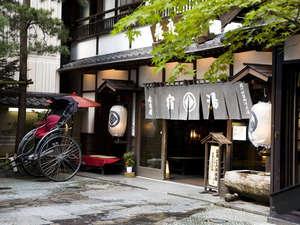 【外観】温泉情緒に似合う老舗旅館