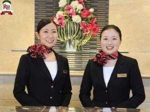 リッチモンドホテル青森:お客様を笑顔でお出迎えいたします♪