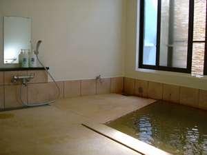 亀屋旅館:1階の風呂・小