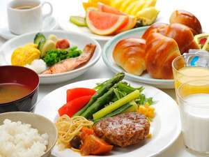 アパホテル<前橋駅北>:朝食バイキング 一例