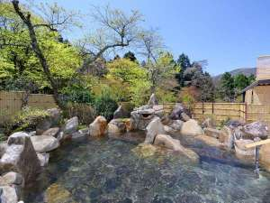 箱根高原ホテル:露天風呂「満天の湯 月」