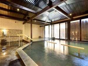 箱根高原ホテル:大浴場「金時湯」 源泉掛け流し