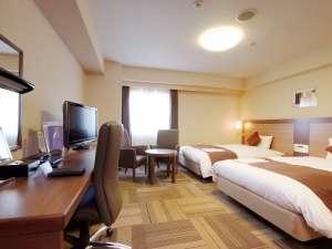 ダイワロイネットホテル八戸:広々31㎡で、ゆったり♪快適なホテルライフを♪デラックスツインルーム