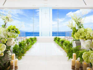 結婚式場。My cinderella storyを叶える挙式場です。