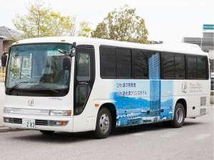 JR大津駅からは当ホテル直行の無料シャトルバスで約10分です。