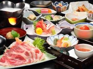 【お手軽「梅」膳・花巻産白金豚の季節鍋付プラン】