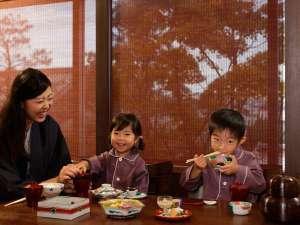 星野リゾート 界ではお子様の温泉旅館デビューを応援しています。
