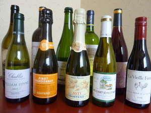 旅館 三之亟湯(さんのじょうゆ):ワイン ラインナップ